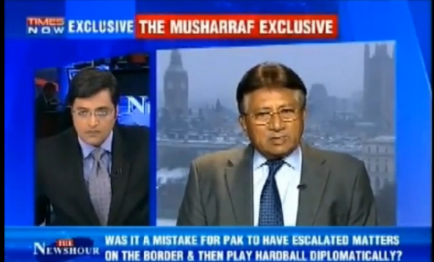 Pervez Musharaf lashed out at Indian media Full Interview
