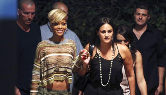 Rihanna's Tel Aviv Concert