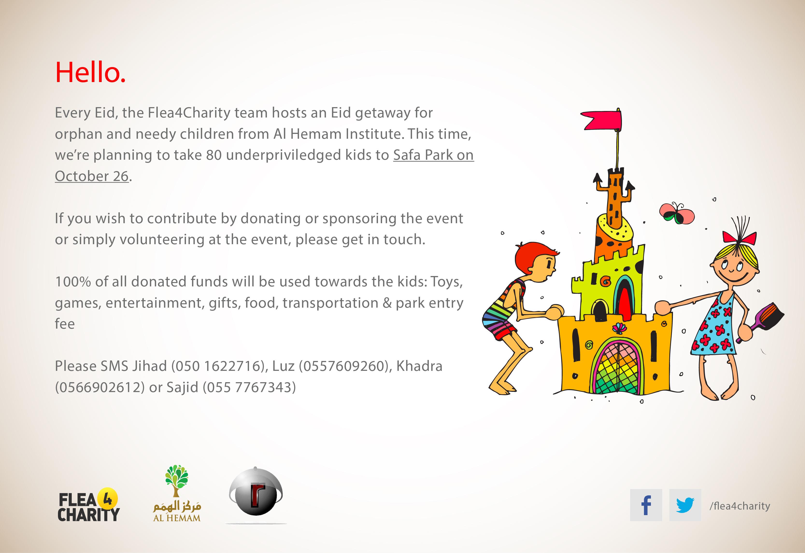 Eid Adha Event   Flea 4 Charity