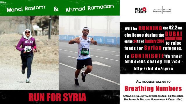 Run for Syria Flea4Charity Campaign