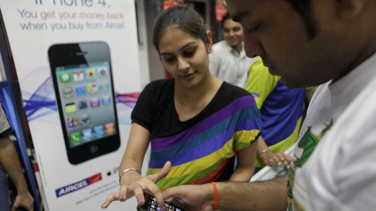 iphone 4 india