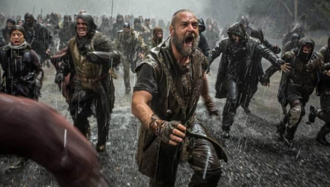 Earthquake hits LA cinemas during end of the world scene in Noah