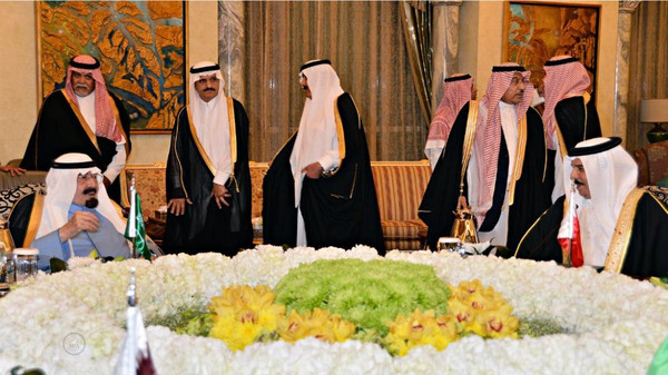GCC surprise meeting ends rift with Qatar